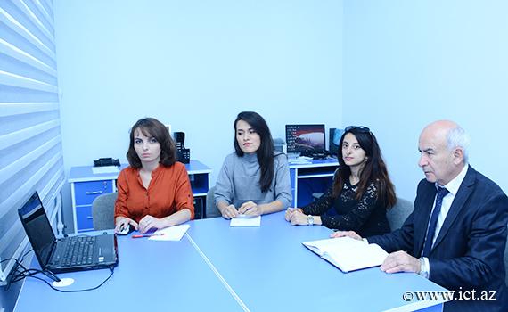 Состоялось обсуждение на тему «Международный опыт в сфере информационного обеспечения в принятии управленческих решений в науке»