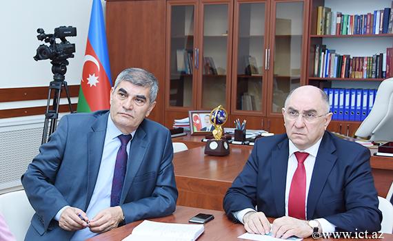 Meeting on AzScienceNet network's capacity expansion held