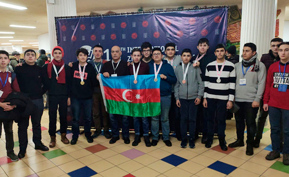 Azerbaijani student won a gold medal  at the international olympiad