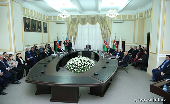 The next meeting of the Presidium of ANAS was held