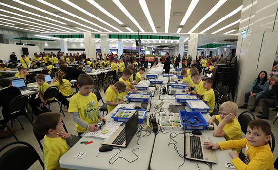 Children's Robotics Tournament has completed its work