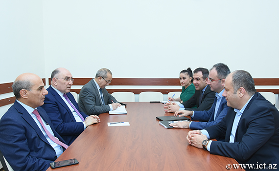 Academician Rasim Alguliyev met with a delegation from TUBITAK-BILGEM
