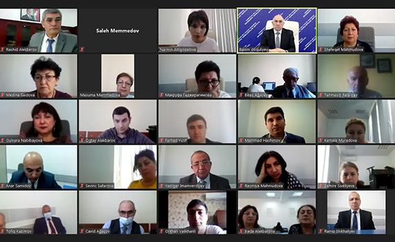 Azərbaycan-Ermənistan münaqişəsi ilə bağlı informasiya müharibəsində institutun əməkdaşları fəal iştirak edirlər