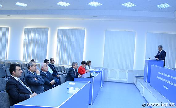AzScienceNet-in mövcud vəziyyəti və imkanlarına həsr olunmuş seminara hazırlıq görülür