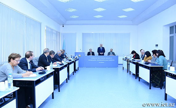 The meeting was held with the representatives of the French-Azerbaijan University