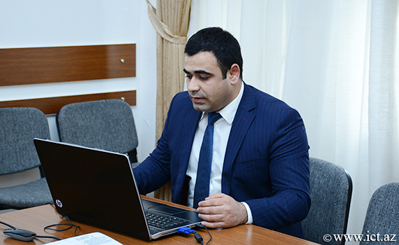 The presentation of the web site of the two departments of the Presidium of ANAS was held