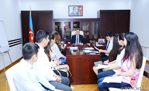 Institute held a meeting with master's and PhD students for the 2018/2019 academic year