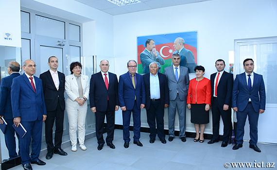 Bolqarıstan Elmlər Akademiyasının sədri İnformasiya Texnologiyaları İnstitutu ilə tanış oldu
