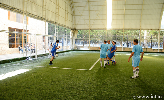 The footbal team of the Institute won the second match of the group in Spartakiad