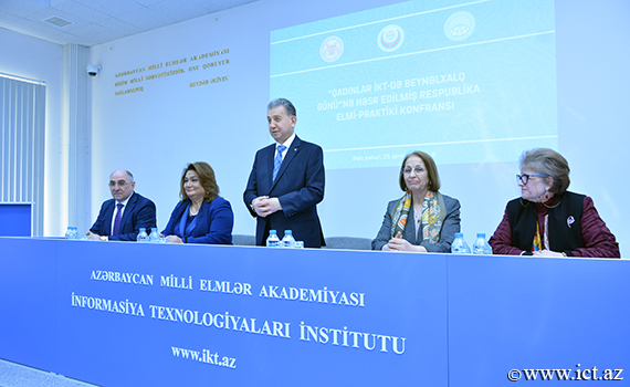 "The republican scientific-practical conference on ""International Women in ICT Day """