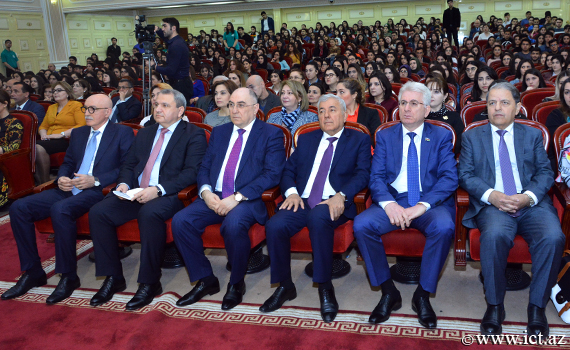 Awarding ceremony of knowledge contest winners dedicated to BSU 100th anniversary held