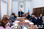 Organization of the 1st Congress of Azerbaijani Scientists was discussed