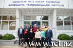AMEA Xarici dillər kafedrasının kollektivi institutun Tədris-İnnovasiya Mərkəzinin tədris prosesi ilə tanış olub