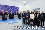 AMEA prezidenti və təhsil naziri İnformasiya Texnologiyaları İnstitutunun texnoloji imkanları ilə tanış oldular