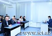 AMEA-da doktoranturaya qəbul və ixtisas fənləri üzrə doktorluq imtahanlarının test  texnologiyaları əsasında təşkilinə həsr olunmuş treninq-seminar keçirildi