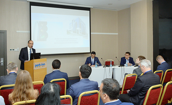 Intelligent transport system discussed in Baku