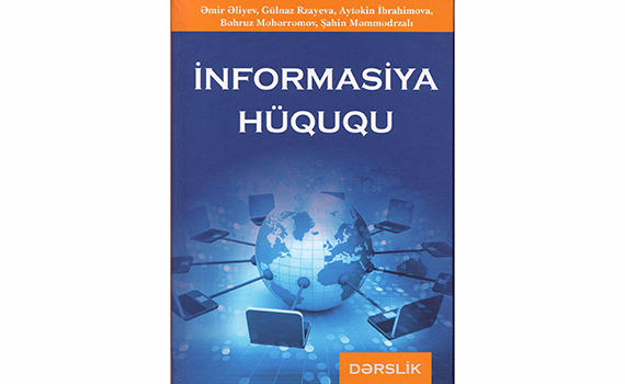 "Published a textbook ""Information Law"""