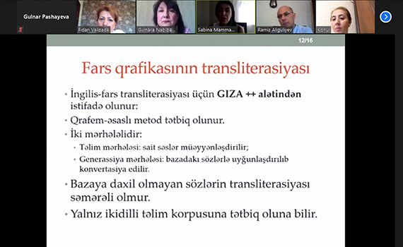 Müxtəlif dillərin qrafikaları üçün təklif edilən transliterasiya metodları təhlil olunub