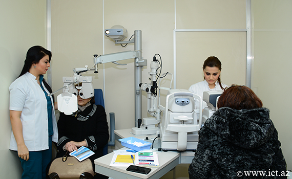 National Center for Ophthalmology conducted free examination for the eployees of the Institute