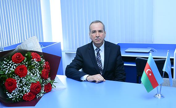 İnstitutun baş elmi işçisi Ramiz Şıxəliyev Fəxri Fərmanla təltif edildi