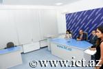 Naxçıvanda keçirilmiş beynəlxalq simpozium çərçivəsində videokonfrans keçirildi