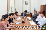 Состоялось совещание, связанное с деятельностью портала science.gov.az  и ict.az
