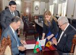 AMEA ilə Moldova Elmlər Akademiyası arasında elmi-texniki əməkdaşlıq haqqında saziş imzalanıb