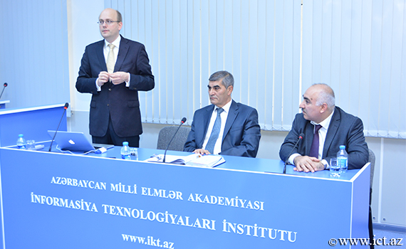 "Head of the ""Eljakim Information Technology"" company, made a presentation at the Institute of Information Technology"