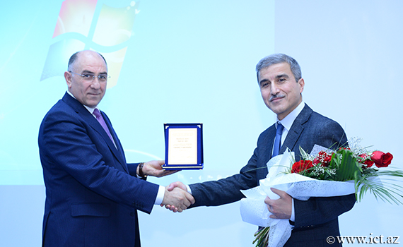 Congratulations to the Deputy Director on general affairs of the institute Shakir Mehdiyev on the occasion of the 60th anniversary!