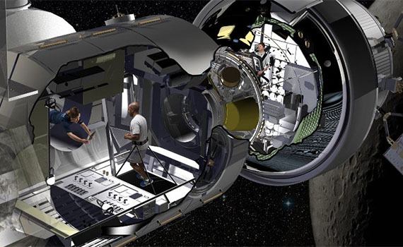 Lockheed Martin Offers First Glimpse of its Deep Space Habitat