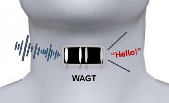 Graphene sensor sticker returns voices to dumb people