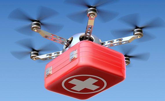 Ambulance drones will appear in South Korea