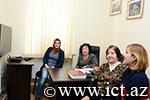 AMEA Xarici dillər kafedrasında kompüterləşdirmə işləri həyata keçirilib