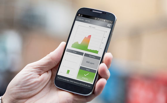 Mobil telefon vasitəsilə havanın keyfiyyətini ölçən tənzimləyici hazırlanır