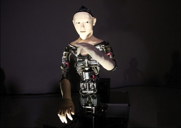 İnsanabənzər robot yaradılıb