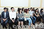 Azərbaycan Milli Elmlər Akademiyasının ilk magistrları ilə görüş keçirildi
