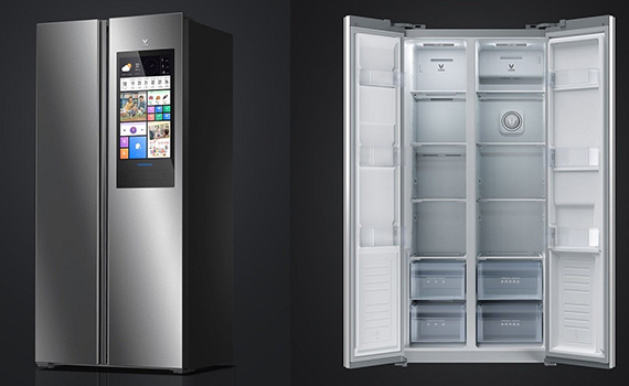 Xiaomi introduced the smart refrigerator