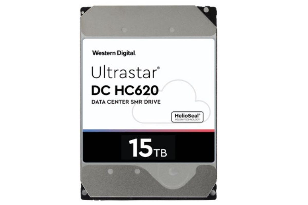 Western Digital introduced the most capacious hard drive in the world