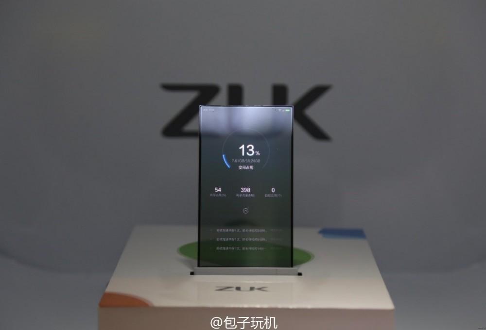 A transparent bezelless smartphone concept