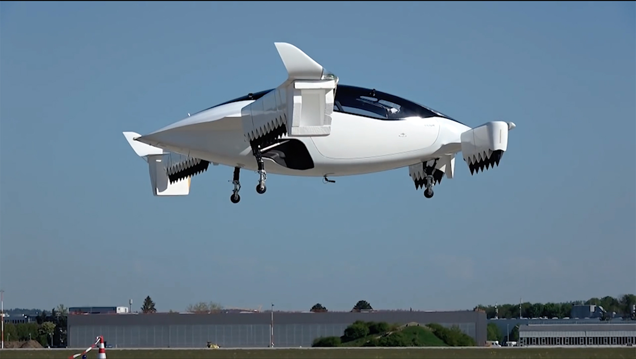 Air taxis will protect the environment