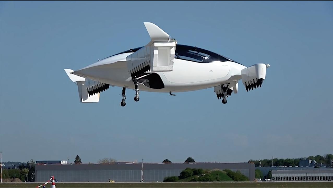 Воздушные такси будут служить защите экологии