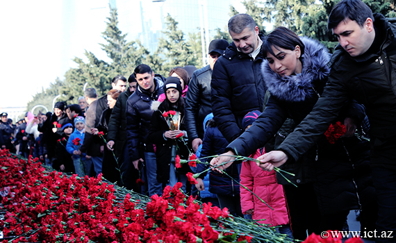 Employees of Institute  commemorated 20 January martyrs