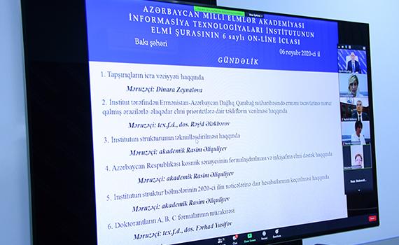 """""""Elektron Qarabağ"""" konsepsiyası ilə bağlı müzakirələr aparıldı"""
