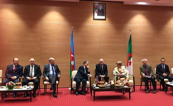 The delagation of ANAS was in a scientific mission in Algeria