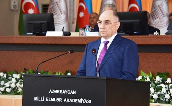 Academician Rasim Alguliev  re-elected  academician-secretary of ANAS