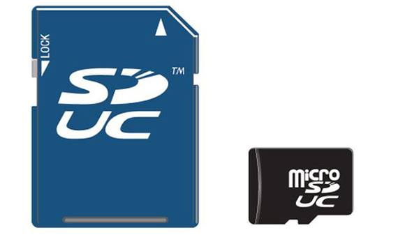 SD-cards will be able to store 128 terabytes of data