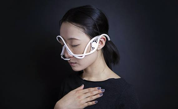 A mask that can affect the emotions of people