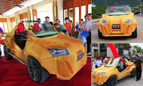 Çinlilər 3D-printer vasitəsilə avtomobil istehsal ediblər