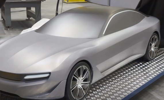 Car printed on 3D printer