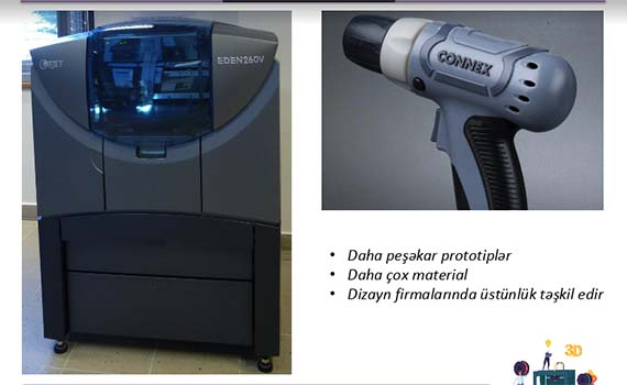 3D çapın istehsala təsiri ilə bağlı elmi seminar keçirildi